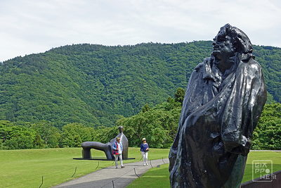 hakone open air museum rodin